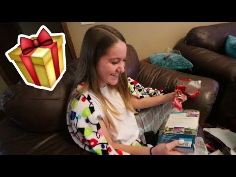 HER HUGE CHRISTMAS SURPRISE!