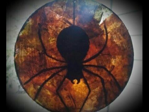 DIY-Spooky CD Art