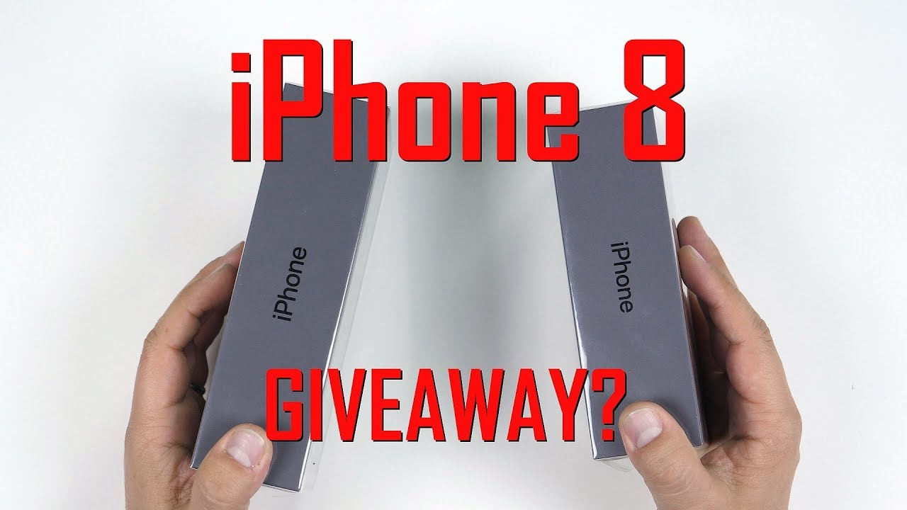 iphone 8 giveaway unboxing review și giveaway iphone 8 youtube 3925