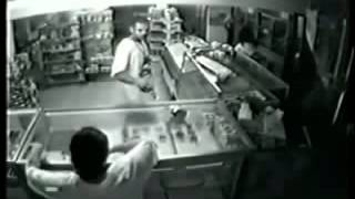 2 COPS KILLED IN ROBBERY LIVE CCTV FOOTAGE