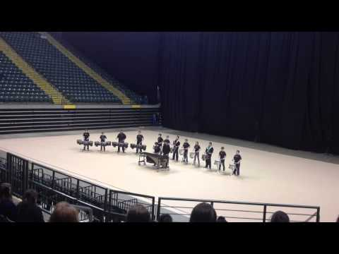 Middle school drumline