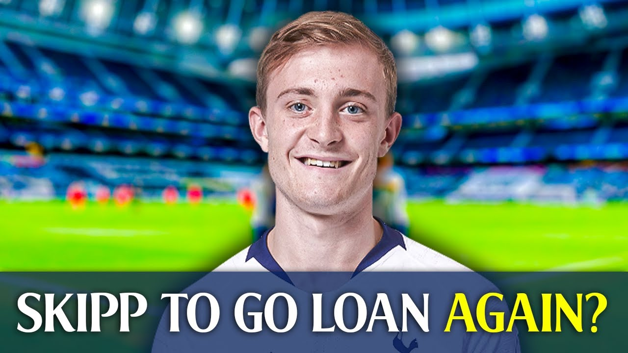 Spurs To Send Skipp On Loan? [GOOD MORNING TOTTENHAM CLIPS]
