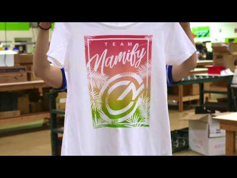 8f80b9c4f8 Direct-To-Garment Printing Services | Namify High Definition Prints