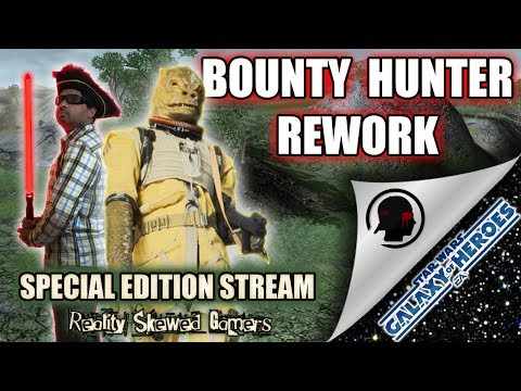RSG Special Edition Stream: Bounty Hunter Rework | Star Wars: Galaxy of Heroes #swgoh