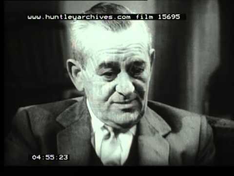 King Vidor And William Wyler  interviewed, 1950's -- Film 15695