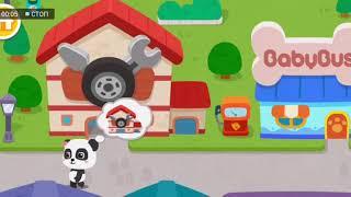 Город мечты маленькой панды. BabyBus. Детские игры.