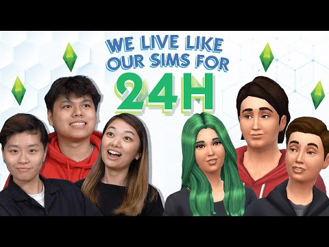 We Lived Like Our Sims For 24 Hours