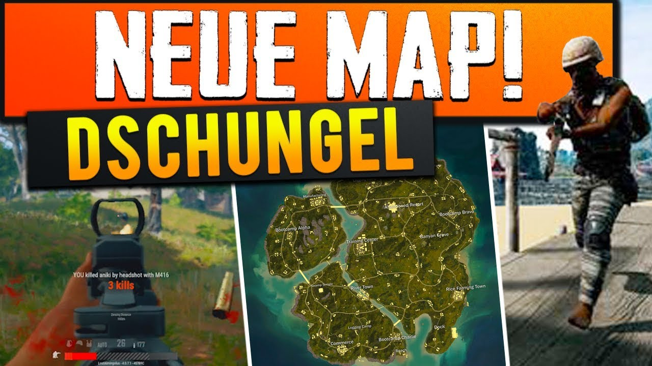 Playerunknown S Battlegrounds Maps Loot Maps Pictures: Neue Map Erobert (Playerunknowns