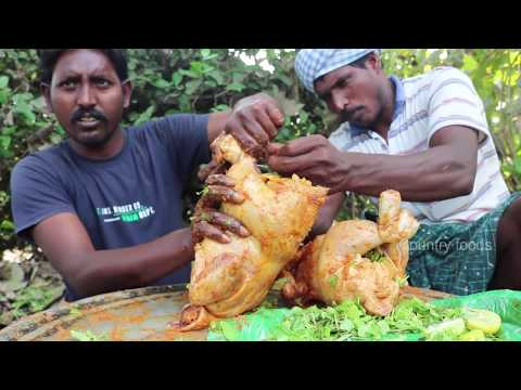 Juicy Chicken Recipe | Mud Chicken Roast recipe By Country Boys | Country foods