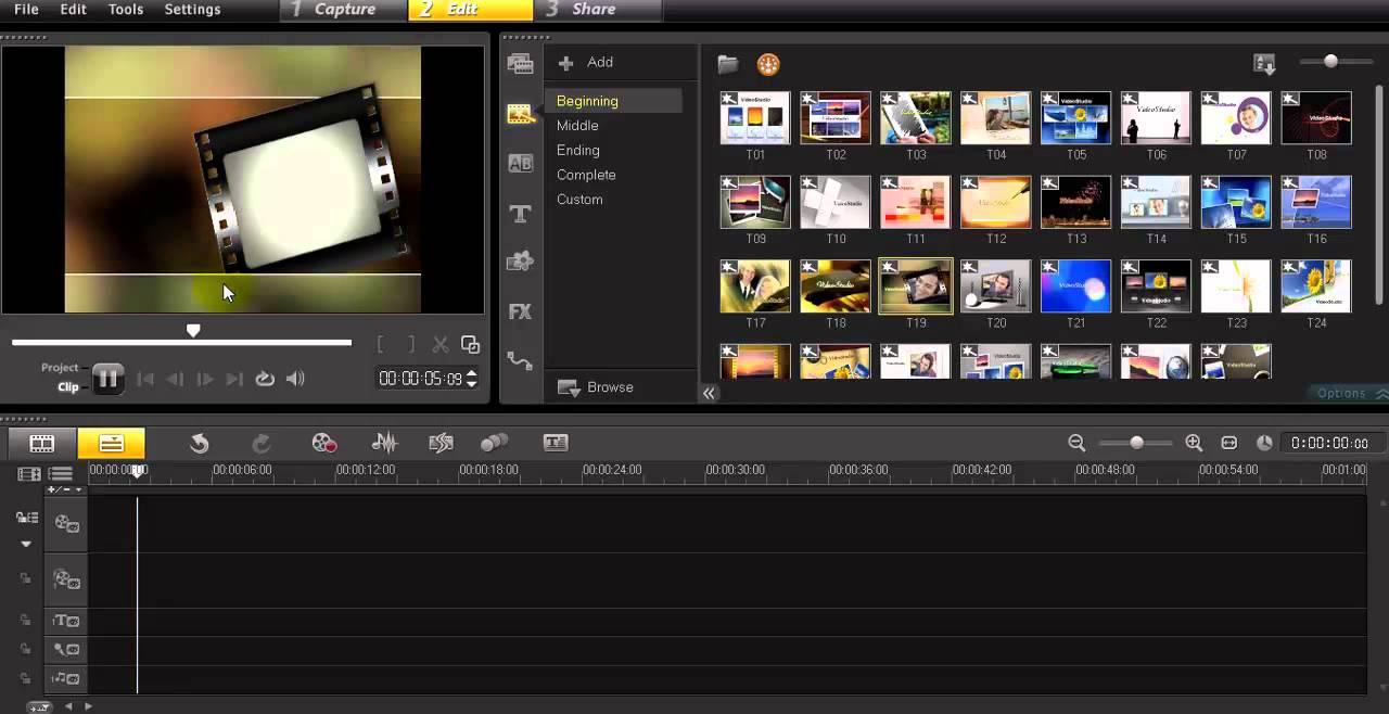 video montaj proqrami programi corel videostudio pro x6. Black Bedroom Furniture Sets. Home Design Ideas