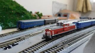 野守高原鉄道 DD51+12系 急行しらかば