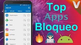 3 Mejores Apps: Bloquear Aplicaciones en Android (PIN, Patrón y Huella)