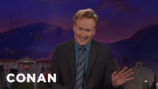 Catch Conan's New Podcast, Live Tour, & More  - CONAN on TBS