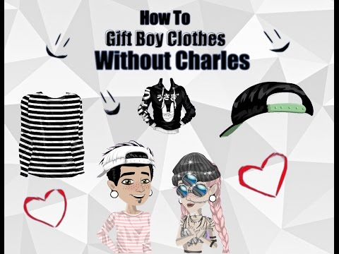 How to gift boy clothes without Charles on MSP