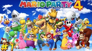 Mario Party 4! ... Again! Part 1 - YoVideogames