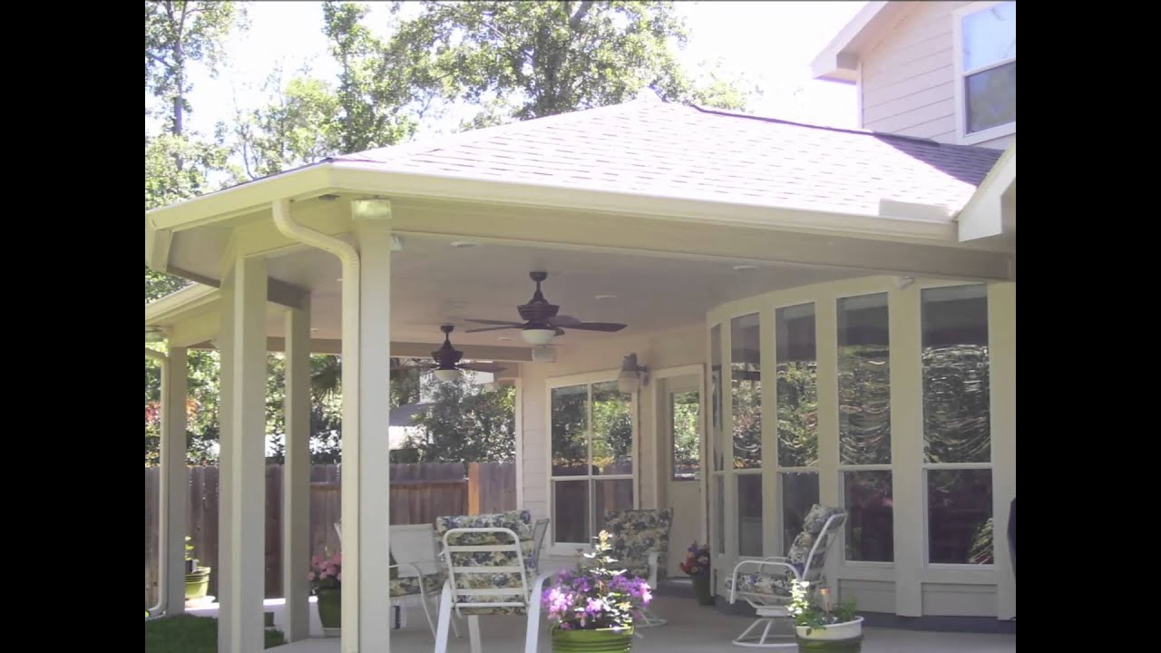 Patio Covers Houston Tx Free Estimates 832 692 0722 By All