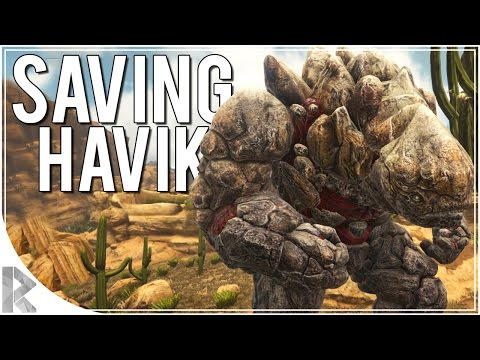 Saving Private Havik! - Ark Survival Evolved Scorched Earth DLC - Part 13 (Ark Scorched Earth)