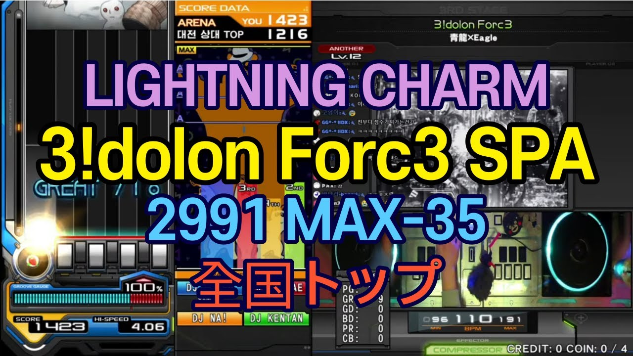 Download [LIGHTNING CHARM] [全国トップ] 3!dolon Forc3 (A) 2991 MAX - 35