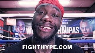 DEONTAY WILDER SLAMS