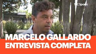 Marcelo Gallardo, en EXCLUSIVO con TyC Sports