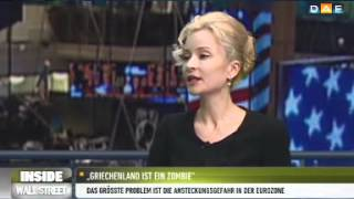 """Sandra Navidi: """"Griechenland ist quasi ein Zombie - ein lebender Toter"""""""