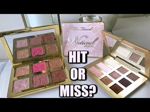3 NEW TOO FACED PALETTES... Worth Trying?