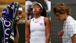 VIDEO: Hécatombe dans le Top 10 - Tennis - Wimbledon