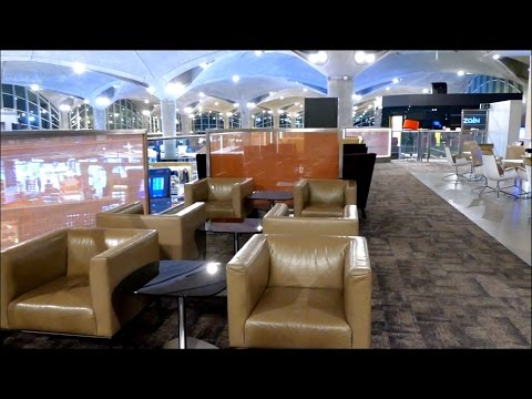 OneWorld Business Class Airport Lounge Royal Jordanian Amman