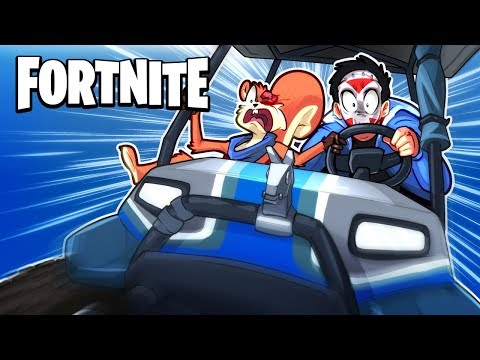 FORTNITE BR - EXPLORING THE NEW MAP! (Funny Moments) Rifts, Karts and Balls!
