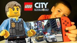 🚔 LEGO City UnderCover 2017 Прохождение ИГРЫ Лего Сити ГТА Видео для Детей Nintendo Switch