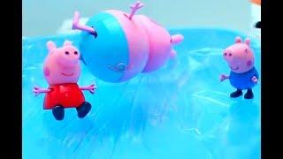 Мультфильм игрушками Свинка Пеппа Свинка Pig Морж