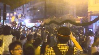 Sony Ericsson XPERIA ray Video Sample 3 (Tai Hang Fire Dragon Dance At Mid-Autumn Festival)
