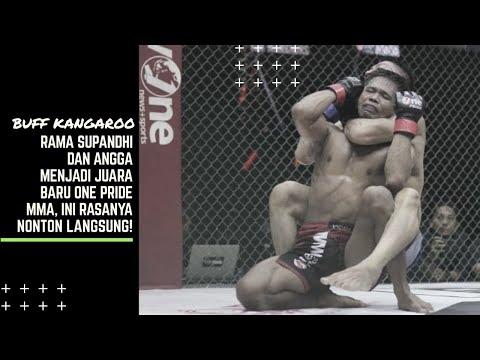 Rama Supandhi Dan Angga Menjadi Juara Baru Di One Pride MMA, Ini Rasanya Nonton Secara Langsung!!