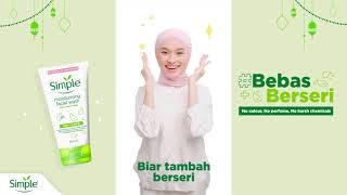 #BebasBerseri dengan Simple l No colours, no perfume, no harsh chemicals