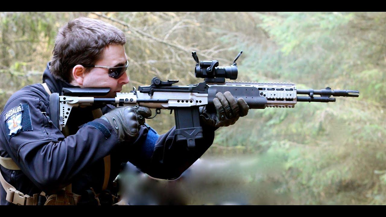 AIRSOFT SNIPER ACTION L96, VSR-10, G&P M14 EBR - YouTube M14 Ebr Sniper Rifle
