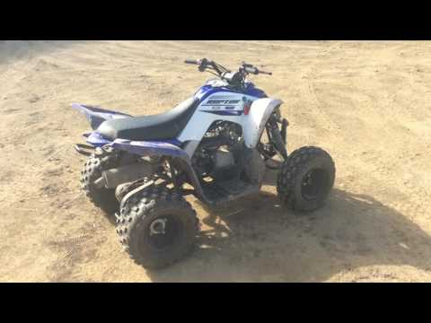 2016 Yamaha Raptor 90 Kids ATV