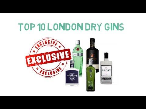 top 10 best london dry gins youtube. Black Bedroom Furniture Sets. Home Design Ideas