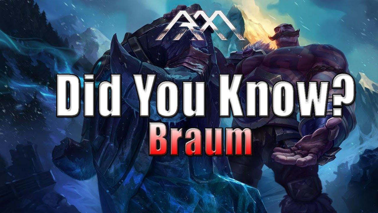 Dragonslayer Braum Passive