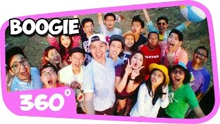 "360 DEGREE VIDEO ""360 BOOGIE INDONESIA"" [please watch in HD quality]"