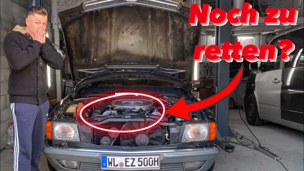 Pfusch nach Mercedes Reparatur! Motor macht Geräusche | 500 SEC