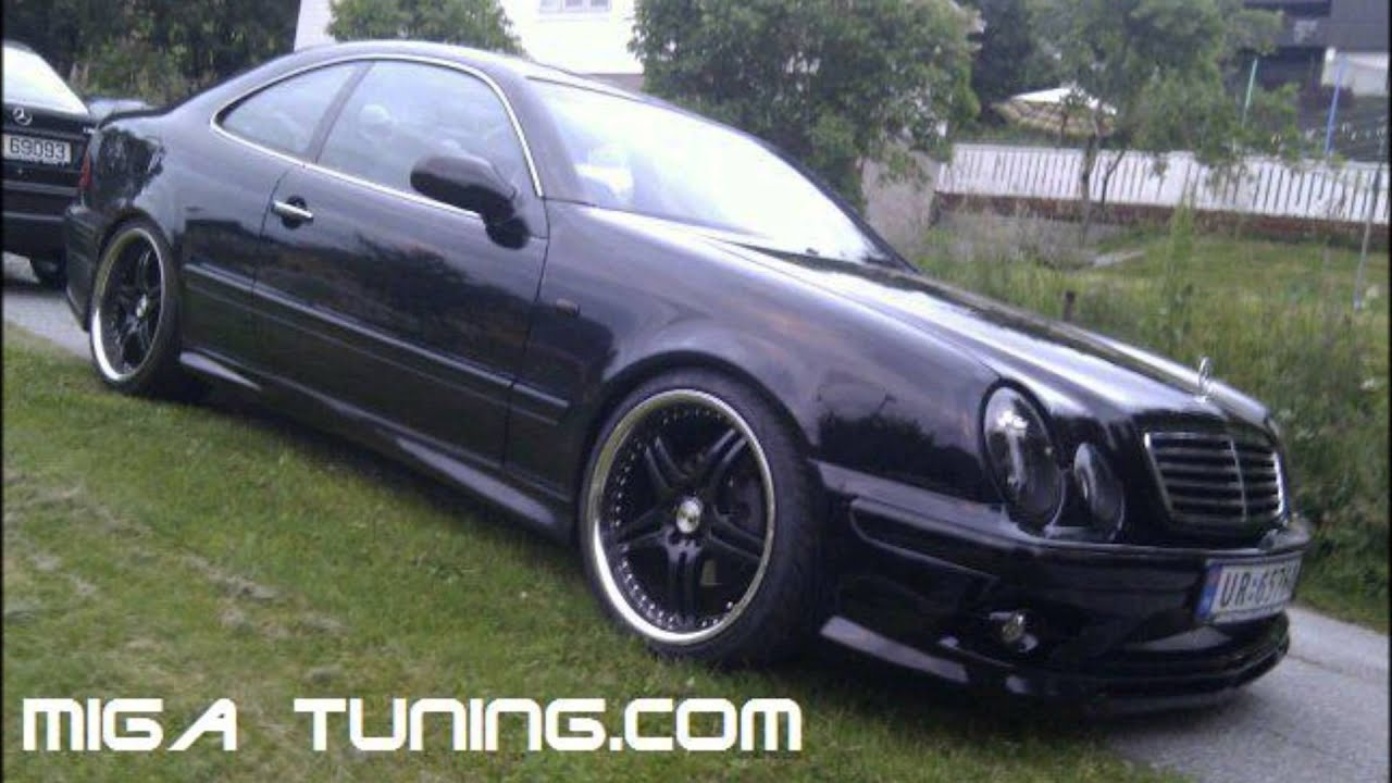 mercedes clk w208 tuning body kit youtube. Black Bedroom Furniture Sets. Home Design Ideas