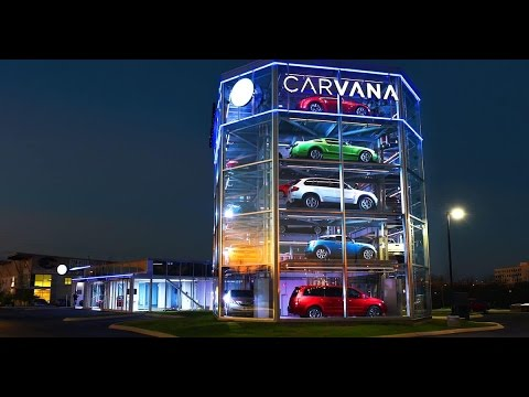 Used Cars Tampa Fl >> Car Vending Machine opens in Houston Texas - YouTube