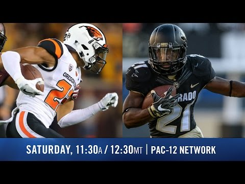 Oregon State-Colorado football game preview