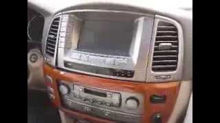 How to Remove Radio / Navigation / Climate Control  from Lexus LX470 2003 for Repair.