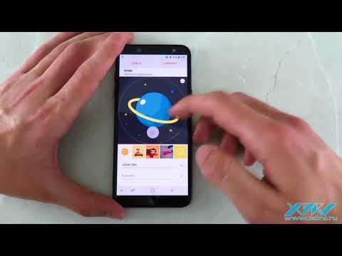 Как установить фото на контакт в Samsung Galaxy A6 (2018) (XDRV.RU)