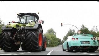 JP's Traktor Taxi | Episode 1 | JP Performance | Claas Axion Taxi | Traktor Taxi | AgrartechnikHD