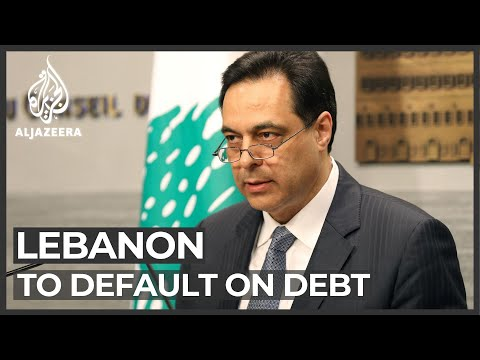 Lebanon will default on its debt for the first time ever