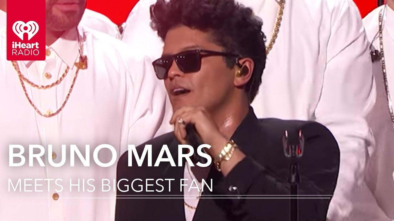 Bruno mars meets his biggest fan youtube bruno mars meets his biggest fan m4hsunfo