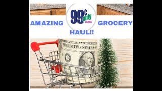🛒👑 Our BEST 99 Cents Store Only Haul THIS Year!! 👑🎄