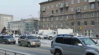 Протест Новосибирск 23.01